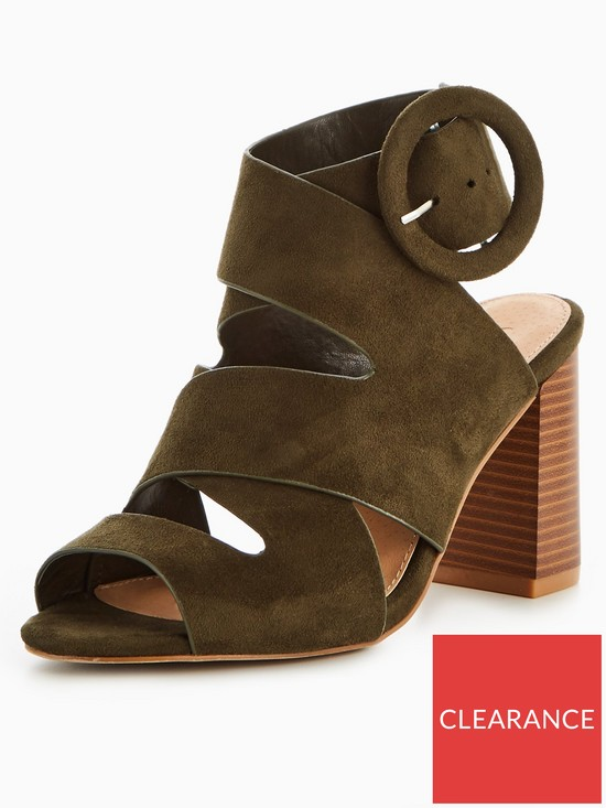cea3d05a11a V by Very Ora Wide Fit Strappy Block Heel Sandal