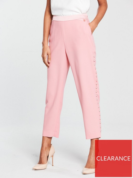 e71da7847 Ted Baker Carlaa Pearl Detail Luxe Jogger - Pink