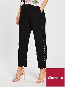 ted-baker-carlaa-pearl-detail-luxe-jogger-blacknbsp