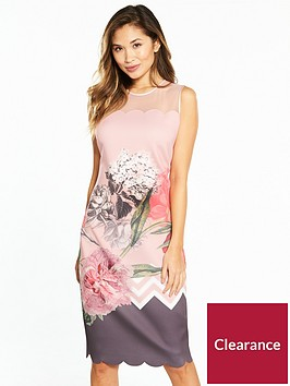 ted-baker-arionah-palace-gardens-scallop-bodycon-dress