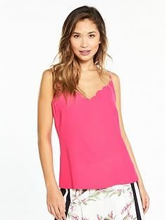 ted-baker-siina-scallop-neckline-cami-top