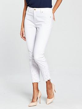 ted-baker-mariaa-embroidered-jean-whitenbsp