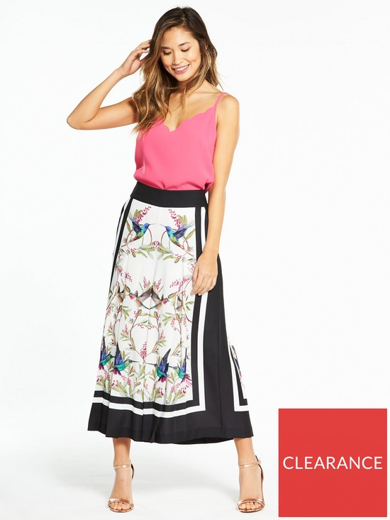4882c0c9268e1c ... Ted Baker Sofeea Highgrove Pleated Culotte. View larger