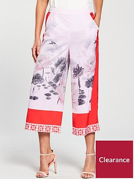 ted-baker-alanya-lake-of-dreams-pleated-culotte-pink