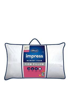silentnight-luxury-collection-firmnbspimpress-memory-foam-pillow