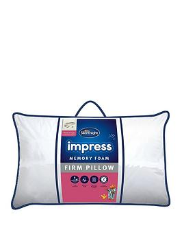 Silentnight Firm Impress Memory Foam Pillow