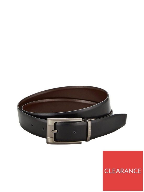 8f6136dab0ad2 Ted Baker Ted Baker Crafti Smart Leather Reversible Belt