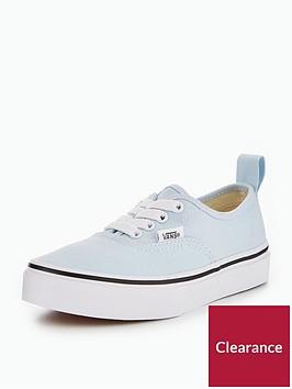 vans-uanbspauthentic-elastic-lace-childrens-trainers-blue
