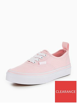 vans-uynbspauthentic-elastic-lace-childrens-trainer-pinknbsp
