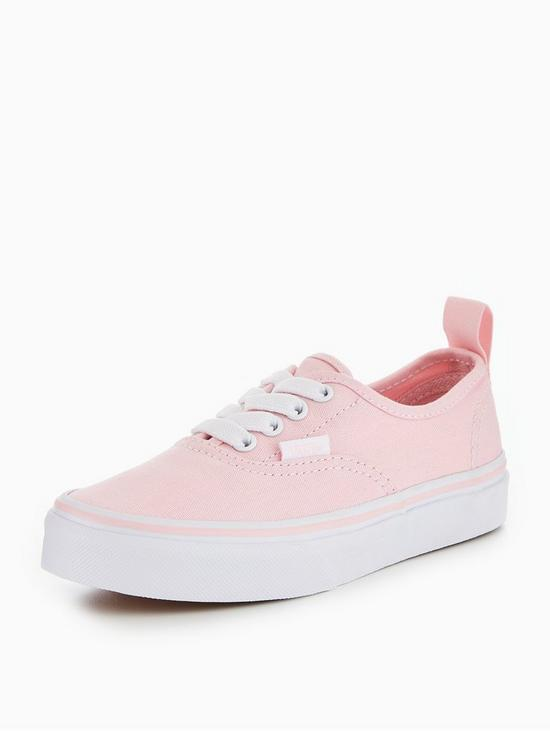 7fccc904e959 Vans UY Authentic Elastic Lace Childrens Trainer - Pink