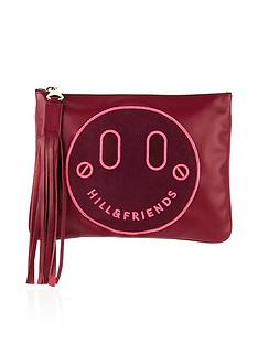 hill-friends-slouchy-pouch-clutch-bordeaux