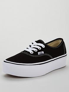7d61e11cba7 Vans UA Authentic Platform 2.0 - Black
