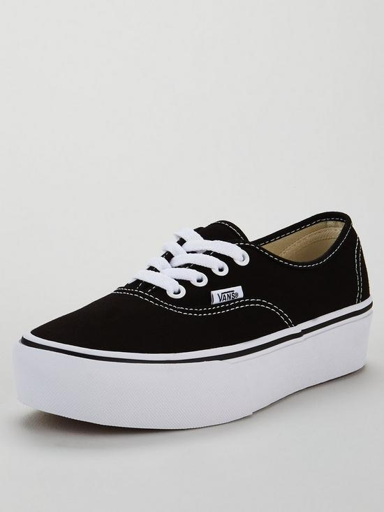 c9637118dd Vans UA Authentic Platform 2.0 - Black