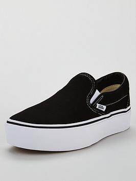 vans-uanbspclassic-slip-on-platform-blacknbsp