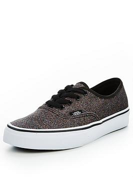 Vans Authentic Glitter - Black