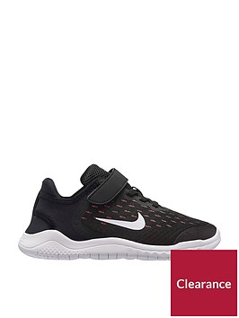 nike-free-rn-2018-childrens-trainer-blackwhitepinknbsp