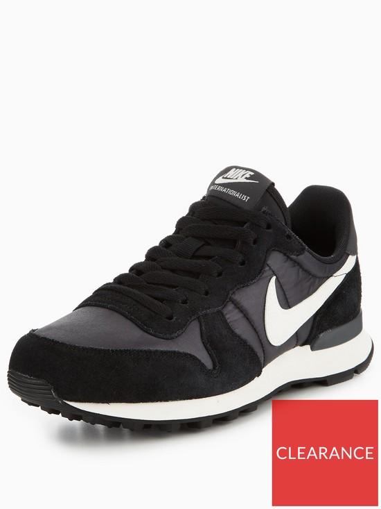 new style 96c2d 7739e Nike Internationalist - Black/White | very.co.uk
