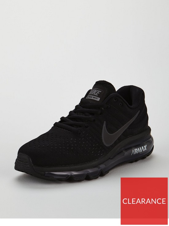 newest collection 14f24 0c1bf Nike Air Max 2017 Junior Trainer - Black