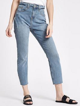 Ri Petite Casey Ramsey Jeans - Mid Wash
