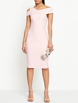 ted-baker-yandal-asymmetric-bodycon-dress-pink