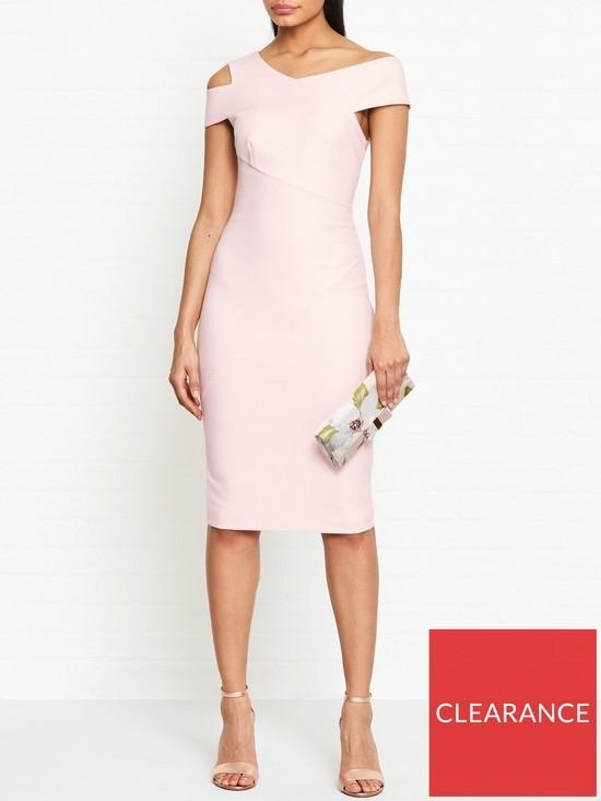 e16b959f4 Ted Baker Yandal Asymmetric Bodycon Dress - Pink