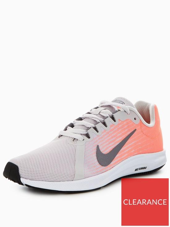 brand new 617d9 b7743 Nike Downshifter 8 - Grey Orange   very.co.uk