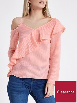ri-petite-ri-petite-frill-one-shoulder-cami-top--pink