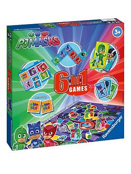ravenburger-pj-masks-6-in-1-games-box