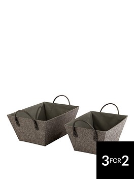 ideal-home-set-of-2-grey-open-storage-boxes
