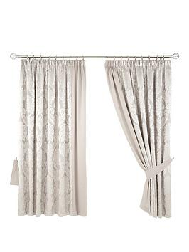 Product photograph showing Boston Pencil Pleat Curtains