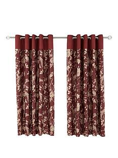 laurence-llewelyn-bowen-royal-rose-garden-eyelet-curtains-66x90