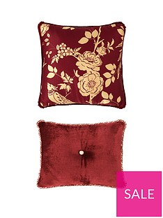 laurence-llewelyn-bowen-royal-rose-garden-cushionnbsppair