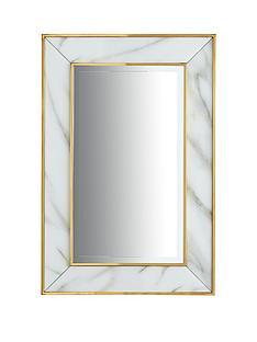 marble-effect-border-mirror
