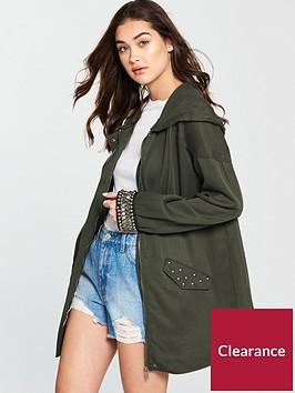 v-by-very-embellished-cuff-utility-jacket-khaki