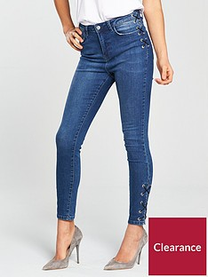 v-by-very-ella-high-rise-lace-up-skinny-jean