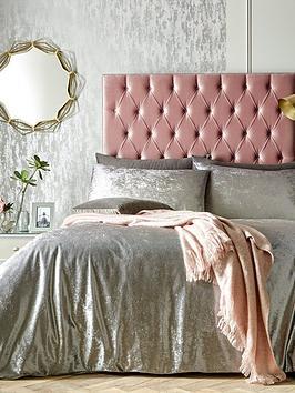 ideal-home-heidi-ombre-velvet-duvet-cover-set-silver