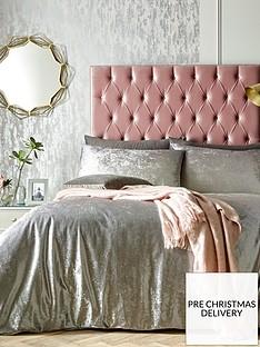 ideal-home-heidi-ombre-velvet-duvet-cover-set