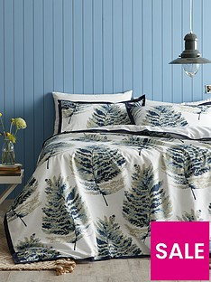 ideal-home-watercolour-fern-100-cotton-180-thread-count-duvet-cover-set