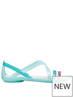 crocs-isabell-graphic-strappy-sandal