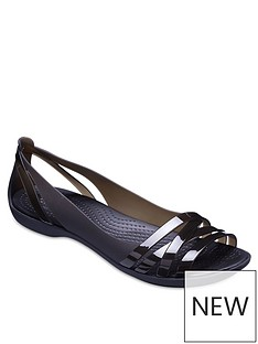 crocs-isabella-huarache-flat-shoes-black