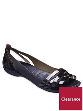 crocs-isabella-huarache-flat-shoes-black