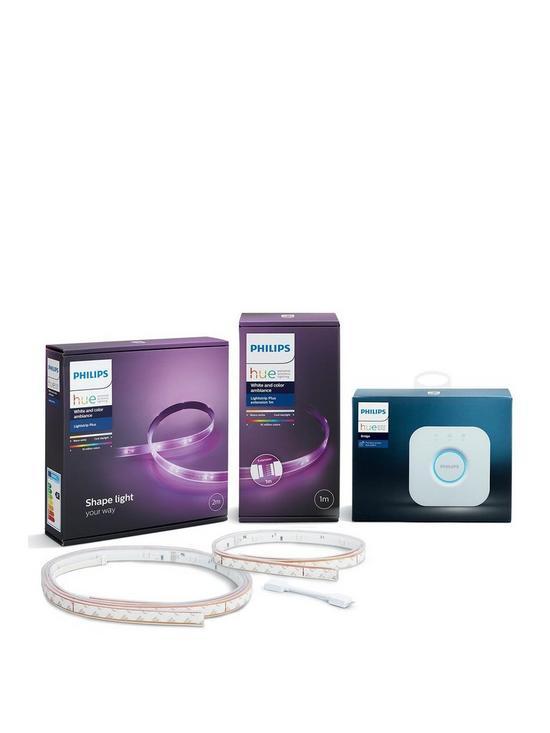 Philips Hue LightStrips 2m + Hue LightStrips 1m Extention + Hue Bridge 678fee137
