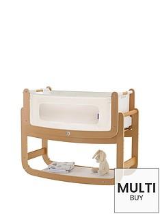 snuz-free-mattress-protectornbspsnuzpod2-3-in-1-bedside-crib-with-mattress-naturalnbspamp-snuzpod-mattress-protector