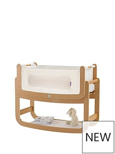 snuz-snuzpod2-3-in-1-bedside-crib-with-mattress-natural