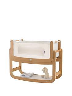 snuz-snuzpod2-3-in-1-bedside-crib-with-mattress-naturalnbsp