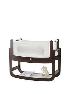 snuz-snuzpod2-3-in-1-bedside-crib-with-mattress-espressonbsp