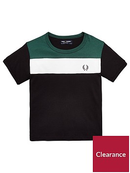 fred-perry-boys-colour-block-panel-t-shirt