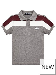 fred-perry-boys-colour-block-panel-pique-polo-shirt