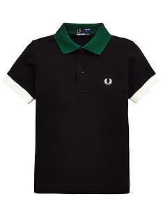 fred-perry-boys-colour-block-pique-polo-shirt