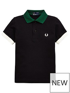 fred-perry-boys-colour-block-pique-polo-shirt